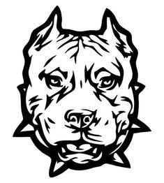 pitbull logos drawings and illustrators rh pinterest com pitbull kennel logos logos pitbull bully