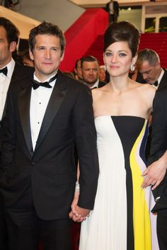 Guillaume Canet and Marion Cotillard at #Cannes #FilmFestival #2013