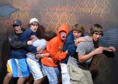 Haunted house with hidden camera. I seriously can't stop laughing at all of these!!!! You have to click on this!!