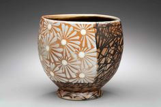 germ of an idea:aaron sober Ceramic Cups, Ceramic Pottery, Ceramic Art, Earthenware, Stoneware, Clay Studio, Cup Art, Black Clay, Pottery Designs