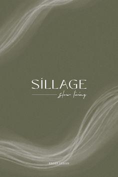 Projet de branding pour le Podcast de Slow Living Sillage. Réalisation de l'identité visuelle et du site web. Design minimaliste et inspirant pour un média qui propage la notion du beau durable et du luxe avec conscience.