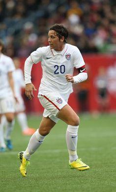 Abby Wambach. (Bruce Fedyck/USA TODAY Sports)
