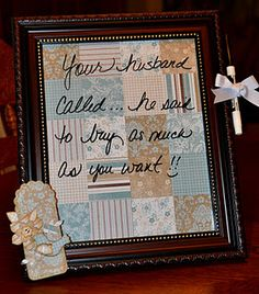Altered Picture Frames using Stampin' Up paper!