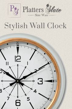 Our White and Gold Wall Clock has a modern feel with a 24 hour display. The stunning design is the perfect way to stay on trend with the current fashion! This clock has an air of sophistication, both elegant and exclusive in its design means it will create a beautiful focal point for any hallway or room. This clock is suited to both contemporary and attractive interior designs and is catching to the eye.