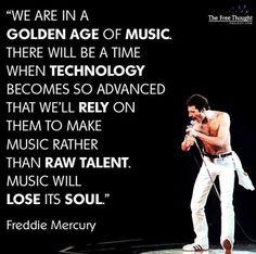 Freddie Mercury predicting the future Freddie Mercury Zitate, Freddie Mercury Quotes, Queen Freddie Mercury, Music Love, Music Is Life, Good Music, Freedie Mercury, Rainha Do Rock, Hard Rock