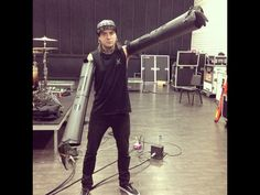 This is what a normal Pierce the Veil band rehearsal looks like:D haha gotta love Tony:3