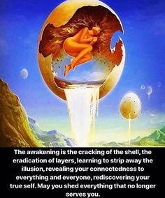 Shed the layers of deception that no longer serve you. Calm the ego and reawaken the soul. Spiritual Enlightenment, Spiritual Growth, Spiritual Awakening, Spiritual Quotes, Spiritual Guidance, Awakening Quotes, Angel Cards, Mind Body Soul, Self Help