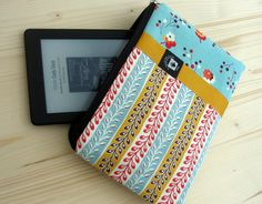 like the tag placement!  Cute iPad Mini Case Cover Kindle Mini Strap by aHelpingHandBag, $25.00