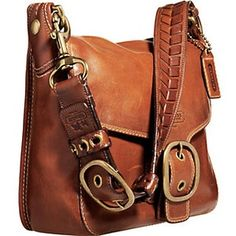 Coach Bleecker large leather flap bag. Love this.