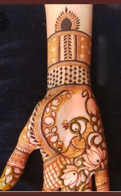 Peacock Mehndi Designs, Indian Henna Designs, Basic Mehndi Designs, Mehndi Designs Feet, Back Hand Mehndi Designs, Latest Bridal Mehndi Designs, Stylish Mehndi Designs, Mehndi Designs For Beginners, Mehndi Designs For Girls