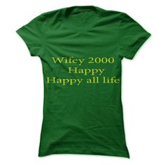 Cool T-shirts [Best Deals] Wifey 2000 . (3Tshirts)  Design Description: Wifey 2000 T-shirt is wonderful for women who married in 2000  If you do not utterly love this Shirt, you'll SEARCH your favorite one via the use of search bar on the header.... -  #camera #grandma #grandpa #lifestyle #military #states - http://tshirttshirttshirts.com/lifestyle/best-deals-wifey-2000-3tshirts.html