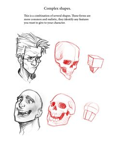 Character design sketching tutorial awesome face tutorial drawing sketch the face in 2018 image of character Drawing Techniques, Drawing Tips, Drawing Sketches, Sketching, Anatomy Reference, Drawing Reference, Character Design References, Character Art, Art Tutorials