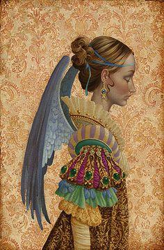 angels in art history ...Tras los CristaLes e la VenTana