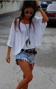 studded shorts ❤