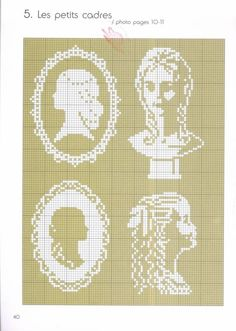 Mini cross stitch chart from Blanc Cross Stitch Charts, Cross Stitch Designs, Cross Stitch Patterns, Diy Embroidery, Cross Stitch Embroidery, Embroidery Patterns, Cross Stitch Silhouette, Crochet Cross, Cross Stitching