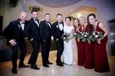 Aoife and Gary with their Bridal Party. Photography by Marriage Multimedia Party Photography, Bridesmaid Dresses, Wedding Dresses, Multimedia, February, Marriage, Bridal, City, Fashion