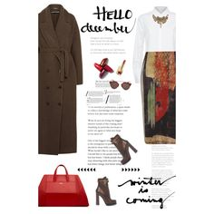 How To Wear winter Fashion Set Outfit Idea 2017 - Fashion Trends Ready To Wear For Plus Size, Curvy Women Over 20, 30, 40, 50