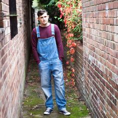 USKEES lightwash denim dungarees for men - quality men's overalls from http://uskees.com/   #dungarees #overalls