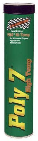 Champion Brands Gun Grease Poly 7® High Temp 14 oz. Each