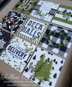 Stampin' Up! Carols of Christmas bundle and Merry Little Christmas DSP
