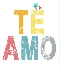 Te amo - for d.o. pronoun day :)
