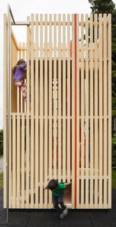 Children's Playhouse 'Sam + Pam' / Office of McFarlane Biggar Architects + Designers Inc.