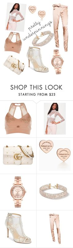 """""""Untitled #11"""" by haileyyyyc on Polyvore featuring River Island, Missguided, Gucci, Michael Kors, Miss Selfridge and Bella Belle"""
