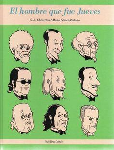 El hombre que fue jueves / G. K. Chesterton ; [historietista] Marta Gómez-Pintado