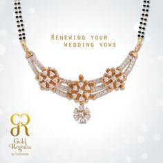 Renewing your wedding vows  :www.goldregalia.com  #GoldJewellery #Mangalsutra #Jewellerycollection #TraditionalJewellery