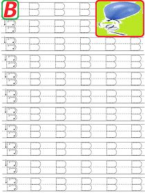 Am postat mai jos o serie de litere punctate de tipar foarte importante si foarte utile pentru copiii mici de gradinita care iau ... Handwriting Worksheets For Kids, Alphabet Tracing Worksheets, Printable Preschool Worksheets, Kindergarten Math Worksheets, Alphabet Worksheets, Teaching Kindergarten, Printables, Preschool Colors, Preschool Writing