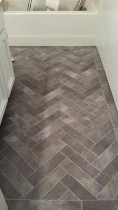 You can get the look of exposed brick with the easy for Industrial stone vinyl tile