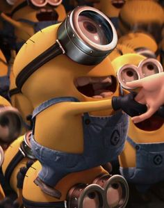 This article is about a minion appears in Despicable Me. For a tall two-eyed minion in Despicable Me 2 and the film Minions, see Kevin. Kevin is one of the Minions. Minions Friends, Minions Love, Minions Despicable Me, Minions 2014, Funny Minion, Minion Rush, Girl Minion, Minions Minions, Minion Humor