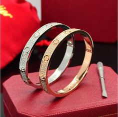 If you want to keep with fashion,please choose Cartier jewelry Cartier Jewelry, Cartier Love Bracelet, Love Bracelets, Bangles, Accessories, Shopping, Fashion, Bangle Bracelets, Moda