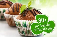 Over 80 fun #recipes for St. Paddy's Day--most of it is pretty healthy, too! | via @SparkPeople #StPatricksDay #recipes #greenfood #greeneverything