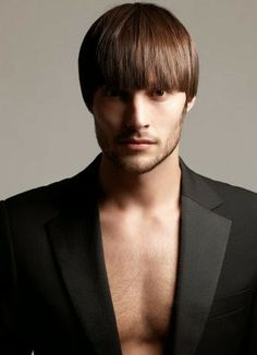 Bowl Cut Hairstyle For Men 2014