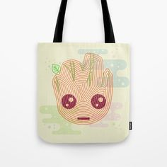 GROOT TWIG Tote Bag ~ $20 ~ Guardians of the Galaxy Gifts!