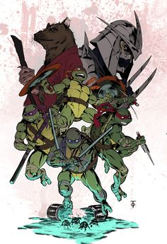 The Works of Comic Artist Marcus To Ninja Turtles Art, Teenage Mutant Ninja Turtles, Tmnt, Witcher Wallpaper, Arte Do Harry Potter, Cartoon Icons, Anime, Comic Artist, Comic Books Art