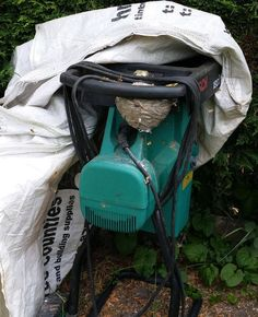 When the garden mulcher was buzzing and it was not even plugged in!