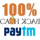 Get 100% Cashback on Mobile Recharges from Paytm