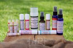 Crunchy Mama's amazing products! My faves include, but not limited to: Crusty Foot, Sweet Orange or Lime Lip Balm, Grapefruit Hand Sanitizer and Menth Head(Vapor Rub). Seriously, try it.