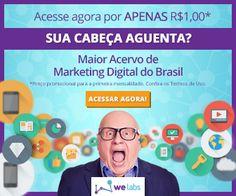 """http://www.estrategiadigital.pt/welabs/ - Logo no início do texto de apresentação deste fantástico portal de marketing digital podemos ler a frase: """"Por que você precisa acompanhar o Welabs Blog?"""" Pois bem, porque tem acesso gratuito a conteúdos de alto valor de marketing digital devidamente actualizados!"""