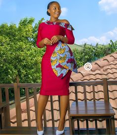 Items similar to Cold Shoulder Bambi Dress on Etsy - African fashion African Fashion Ankara, Ghanaian Fashion, Latest African Fashion Dresses, African Print Fashion, Africa Fashion, Women's Fashion, Short African Dresses, African Print Dresses, African Prints