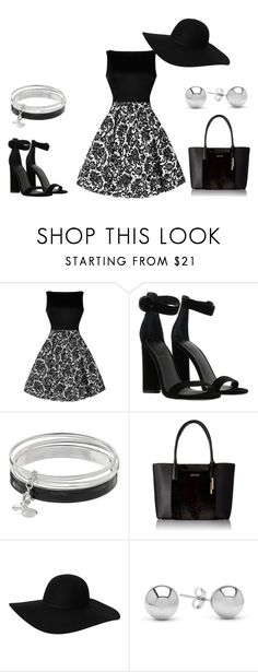 """""""Untitled #57"""" by k-oden ❤ liked on Polyvore featuring Kendall + Kylie, Dana Buchman, Calvin Klein, Monki and Jewelonfire"""