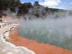 Rotorua. New Zealand travel stories
