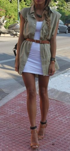 Neutral layers. +++For guide + ideas on #style and #fashion,visit http://www.makeupbymisscee.com/