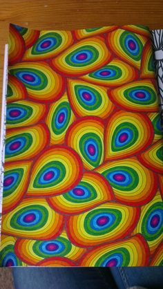 Het enige echte 'Kleurboek voor Volwassenen' - Girlscene Forum Doodle Art Drawing, Zentangle Drawings, Zentangle Patterns, Mandala Art, Mandala Drawing, Trippy Drawings, Art Drawings Sketches, Arte Hippy, Graph Paper Art