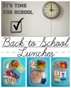 #BacktoSchool Lunches by mamabelly.com