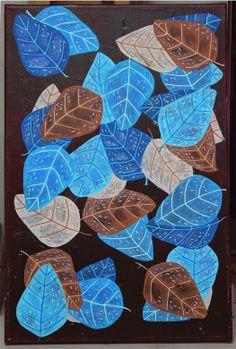 Feuillage : Une autre toile sur le thème de la nature, acrylique et posca. En recherche de couleurs et de formes simples qui font plaisir à regarder :) zeeennnn ! Les Themes, Posca, Coasters, Illustrations, Other, Colors, Toile, Searching, Coaster