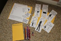 Diary of a Wimpy Kid Birthday Party activities