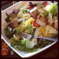 Fortalece tu sistema inmunológico degustando una rica ensalada Parmesana. ligera y muy saludable. #CenaNatural